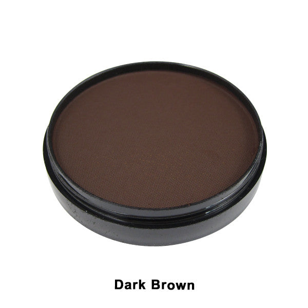 Mehron Paradise Cake Makeup AQ - Pro Size - Dark Brown (800-DBR) | Camera Ready Cosmetics - 9