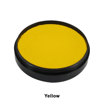 Mehron Paradise Cake Makeup AQ - Pro Size - Yellow (800-Y) | Camera Ready Cosmetics - 42