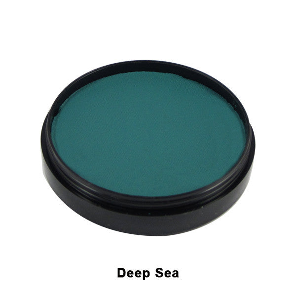 Mehron Paradise Cake Makeup AQ - Pro Size - Deep Sea (800-DS) | Camera Ready Cosmetics - 12
