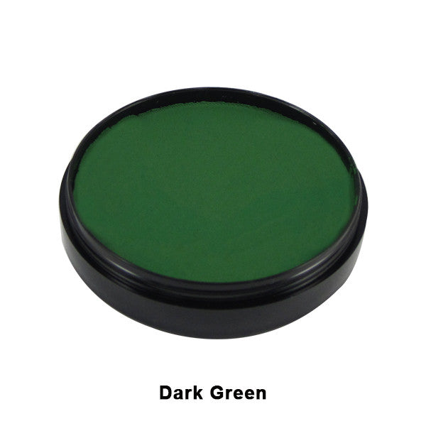 Mehron Paradise Cake Makeup AQ - Pro Size - Dark Green  (800-DGR) | Camera Ready Cosmetics - 10
