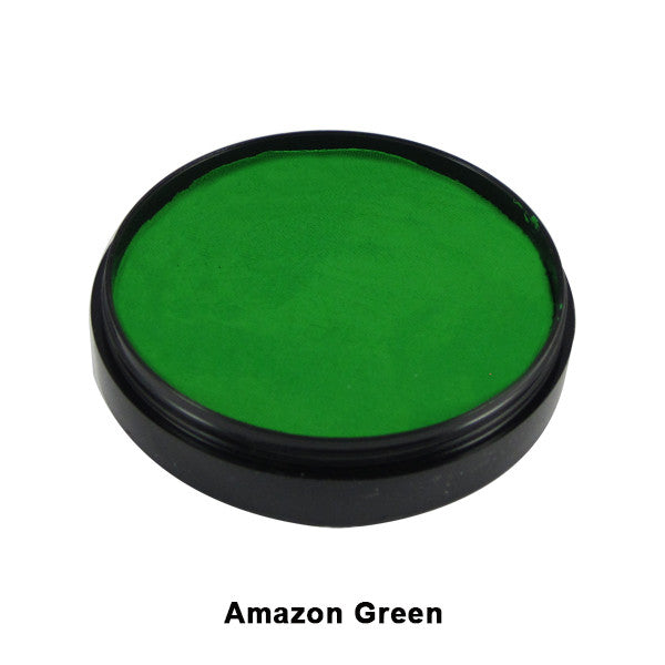 Mehron Paradise Cake Makeup AQ - Pro Size - Amazon Green (800-AM) | Camera Ready Cosmetics - 2
