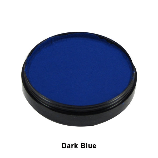 Mehron Paradise Cake Makeup AQ - Pro Size - Dark Blue (800-DBL) | Camera Ready Cosmetics - 8