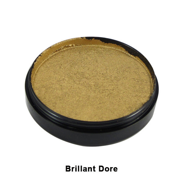 Mehron Paradise Cake Makeup AQ - Pro Size - Gold - Dore (Brilliant) (800-BGD) | Camera Ready Cosmetics - 17