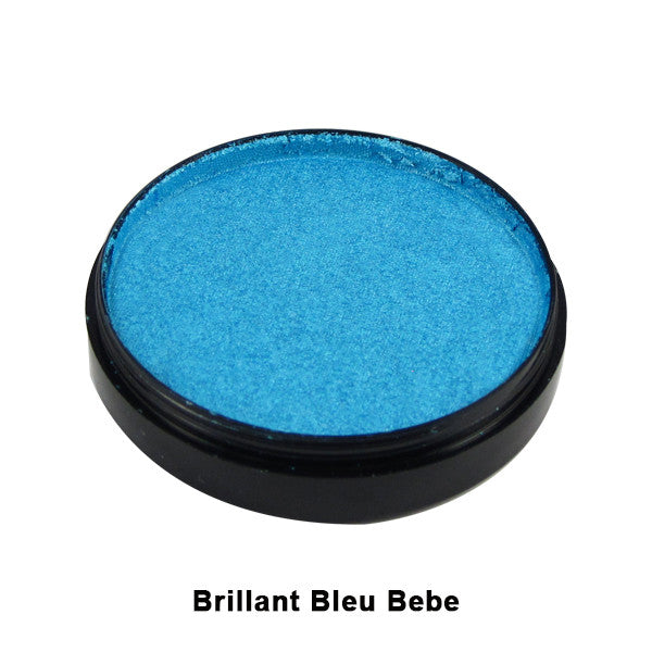 Mehron Paradise Cake Makeup AQ - Pro Size - Light Blue - Blue Bebe (Brilliant) (800-BLB) | Camera Ready Cosmetics - 20