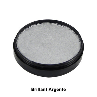 Mehron Paradise Cake Makeup AQ - Pro Size - Silver - Argente (Brilliant) (800-BSA) | Camera Ready Cosmetics - 35
