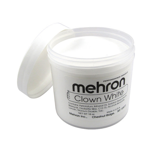alt Mehron Clown White
