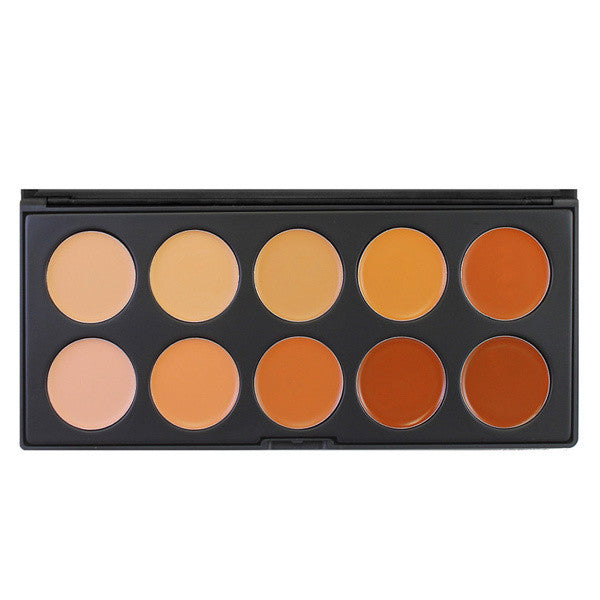 Morphe - 10CON - 10 Color Concealer Palette -  | Camera Ready Cosmetics
