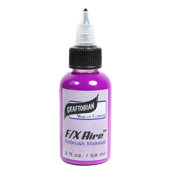 Graftobian F/X Aire Neon Airbrush Shades - Neon Violet (28404) | Camera Ready Cosmetics - 5
