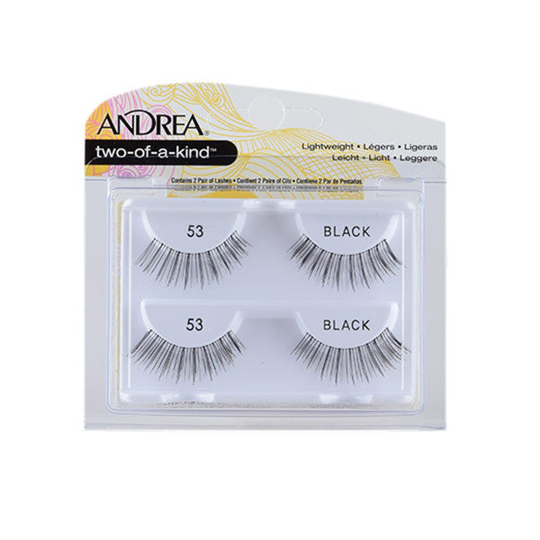 Andrea Strip Style Two of a Kind Lashes 53 (61795)  | Camera Ready Cosmetics