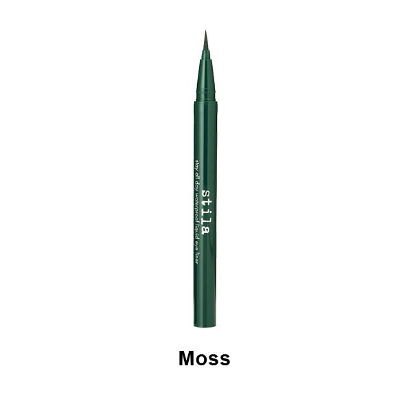 Stila Stay All Day Waterproof Liquid Eye Liner - Moss | Camera Ready Cosmetics - 7