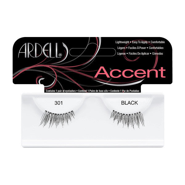 Ardell Accent Lashes 301 - Black (61301) -  | Camera Ready Cosmetics
