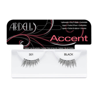 alt Ardell Accent Lashes 301 - Black (61301)