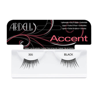 Ardell Accent Lashes 305 - Black (61305) -  | Camera Ready Cosmetics