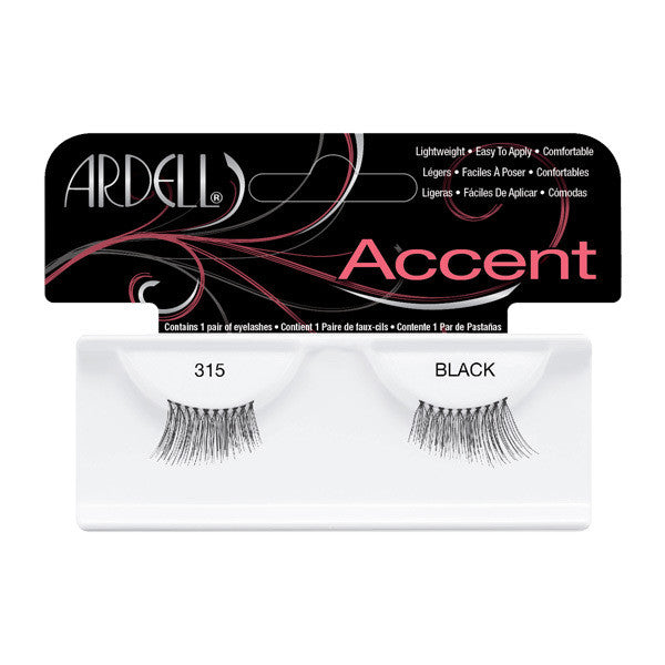 Ardell Accent Lashes 315 - Black (61315) -  | Camera Ready Cosmetics