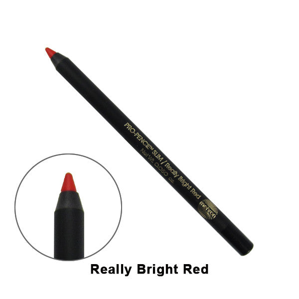Mehron Pro-Pencil Slim - Really Bright Red (114S-RB) | Camera Ready Cosmetics - 4
