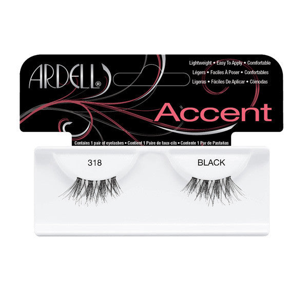 Ardell Accent Lashes 318 - Black (61318) -  | Camera Ready Cosmetics