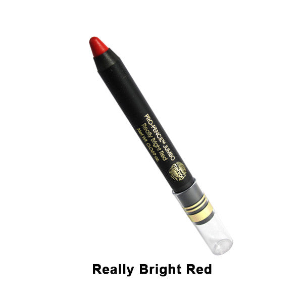 Mehron Pro-Pencil Jumbo - Really Bright Red (114J-RB) | Camera Ready Cosmetics - 4