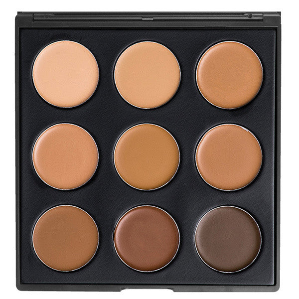 Morphe - 9FW - Color Warm Foundation Palette -  | Camera Ready Cosmetics