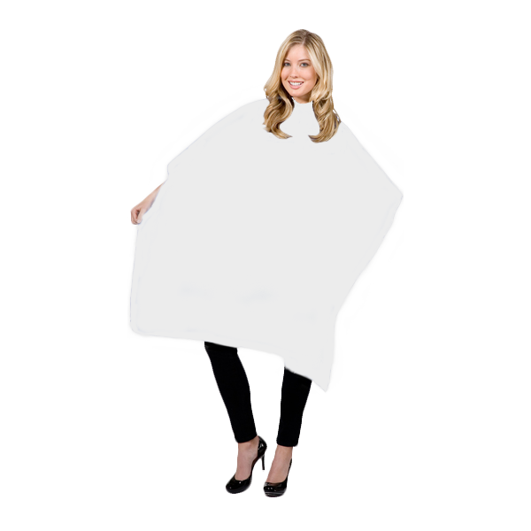 alt Betty Dain Whispering Styling Cape (#199S) White