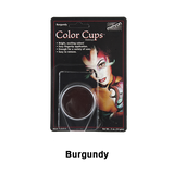 Mehron Color Cups - Burgundy (CCC-BY) | Camera Ready Cosmetics - 5
