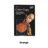 Mehron Color Cups - Orange (CCC-O) | Camera Ready Cosmetics - 10