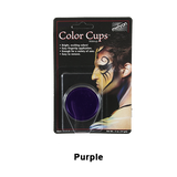 Mehron Color Cups - Purple (CCC-P) | Camera Ready Cosmetics - 11