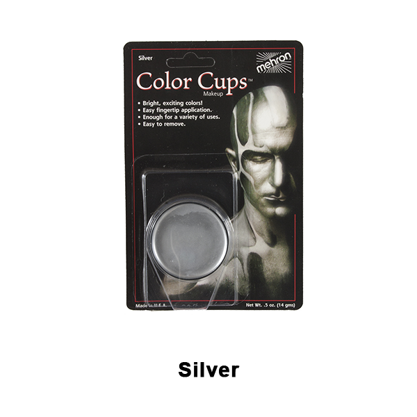Mehron Color Cups - Silver (CCC-S) | Camera Ready Cosmetics - 13