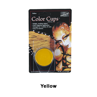 alt Mehron Color Cups Yellow (CCC-Y)