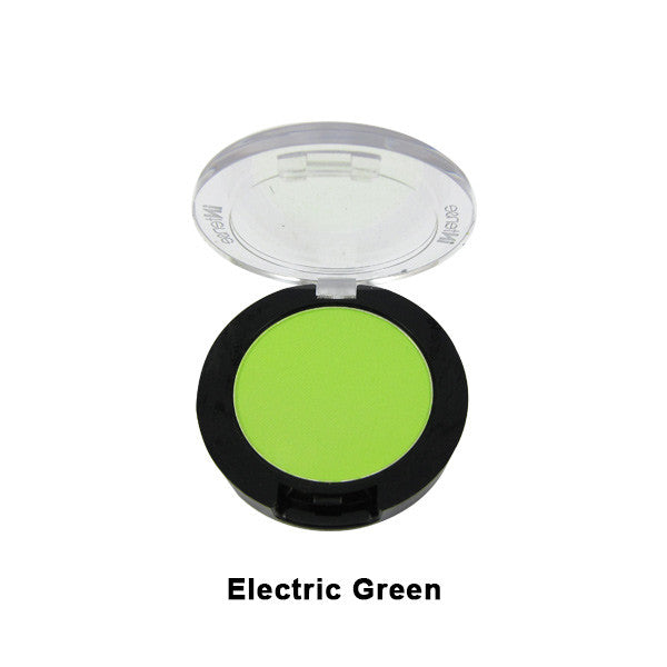 Mehron INtense Pro Pressed Powder Pigment - Singles - Electric Green (160-EG) | Camera Ready Cosmetics - 6