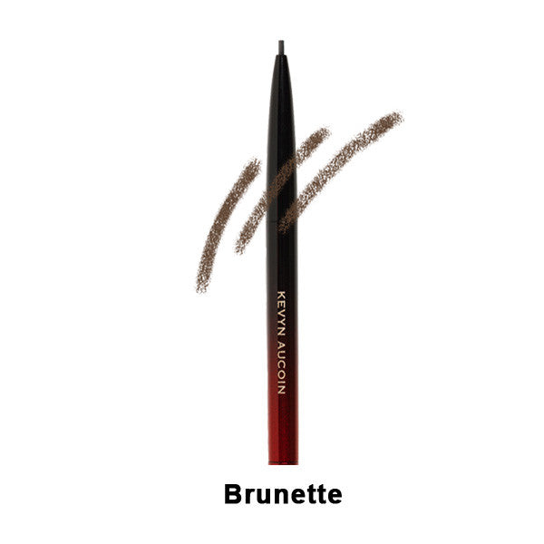 Kevyn Aucoin The Precision Brow Pencil - Brunette | Camera Ready Cosmetics - 3
