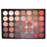 Morphe - 35OM - Matte Nature Glow Eyeshadow Palette -  | Camera Ready Cosmetics - 1