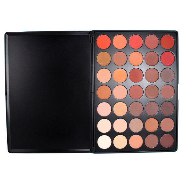 Morphe - 35OM - Matte Nature Glow Eyeshadow Palette -  | Camera Ready Cosmetics - 2