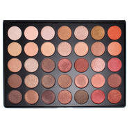 Morphe - 35OS - 35 Color Shimmer Nature Glow Eyeshadow Palette -   - 1