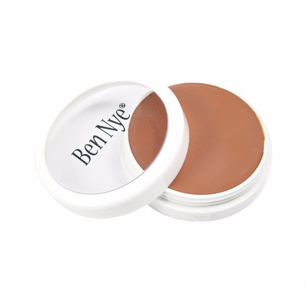 Ben Nye Creme Foundation - Bronze Tan (T-2) | Camera Ready Cosmetics - 13