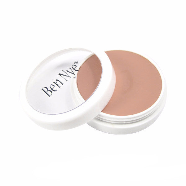 Ben Nye Creme Foundation - Creamy Peach (L-1) | Camera Ready Cosmetics - 22