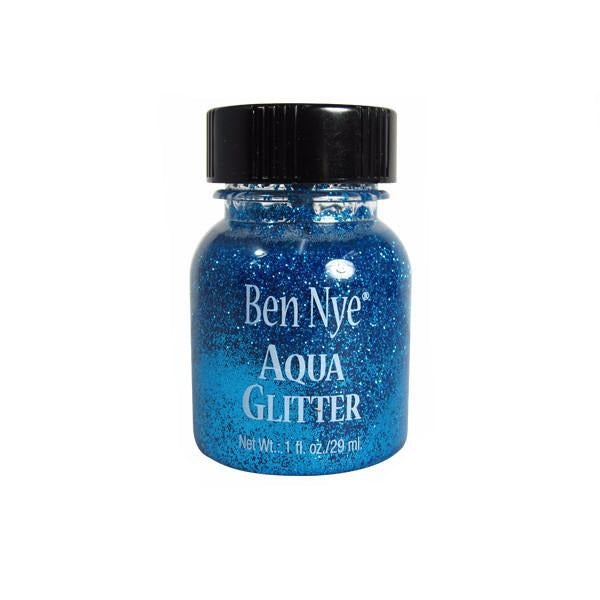 Ben Nye Aqua Glitter - Blue AG4 | Camera Ready Cosmetics - 2