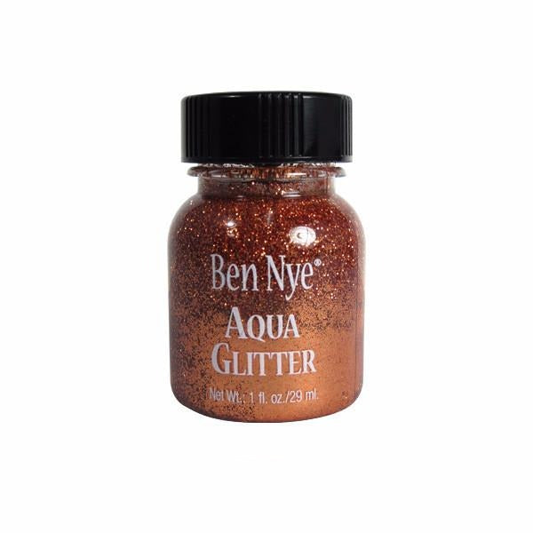 Ben Nye Aqua Glitter - Copper AG10 | Camera Ready Cosmetics - 4