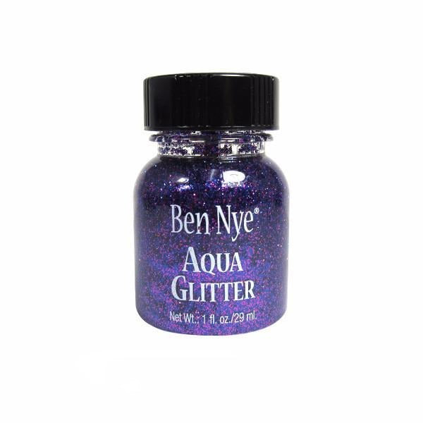 Ben Nye Aqua Glitter - Purple AG7 | Camera Ready Cosmetics - 10