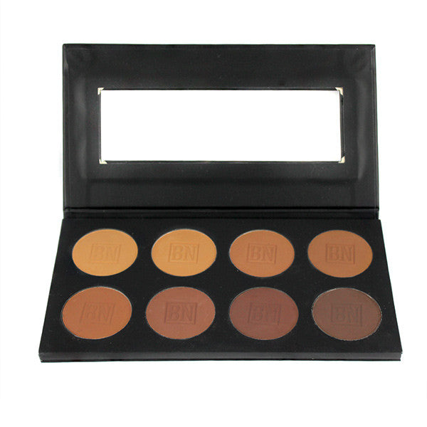 Ben Nye MediaPRO Poudre Palette - Mojave (MHCP-8) | Camera Ready Cosmetics - 3