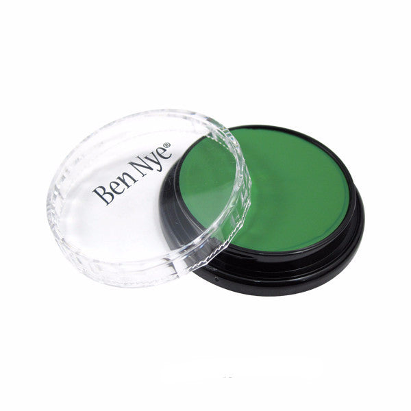 Ben Nye Creme Color - Green (CL-3) | Camera Ready Cosmetics - 23