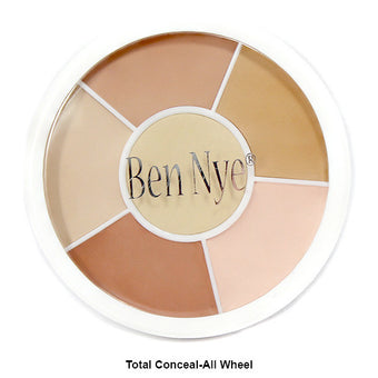 Ben Nye Total Conceal-All and Cover-All Wheel - Total Conceal-All Wheel (NK-11) | Camera Ready Cosmetics - 4