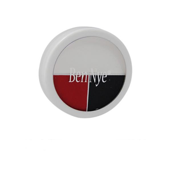 Ben Nye Character Wheel - Red White & Black (WK-51) | Camera Ready Cosmetics - 3