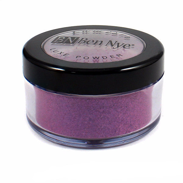 Ben Nye Lumiere Luxe Sparkle Powder - Cosmic Violet (LXS-17) | Camera Ready Cosmetics - 6