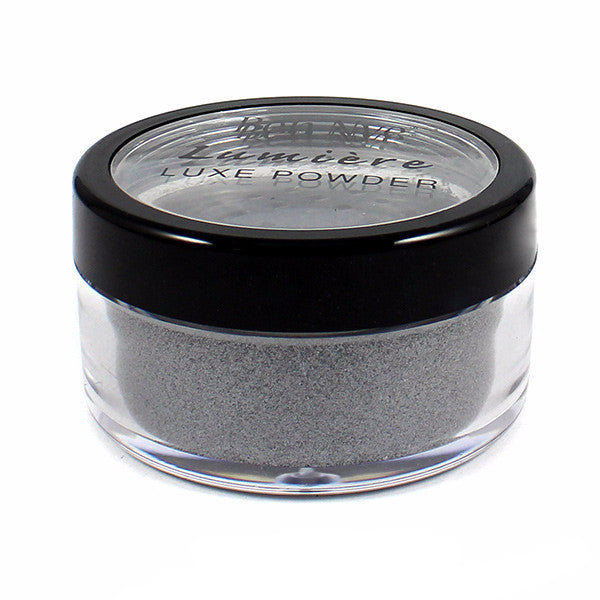 Ben Nye Lumiere Luxe Sparkle Powder - Silver (LXS-4) | Camera Ready Cosmetics - 9