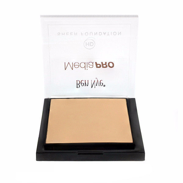 Ben Nye MediaPRO HD Sheer Foundation - Bella 001 (HD-001) | Camera Ready Cosmetics - 13