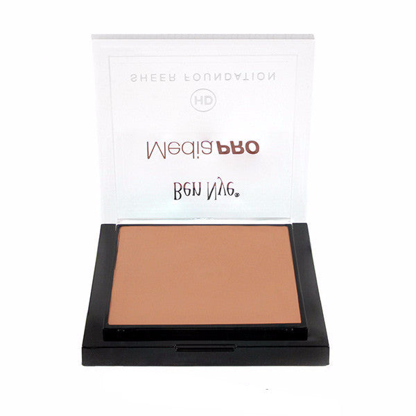 Ben Nye MediaPRO HD Sheer Foundation - Natural Beige (HD-401) | Camera Ready Cosmetics - 42