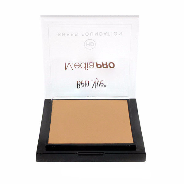 Ben Nye MediaPRO HD Sheer Foundation - Olive Fair (HD-207) | Camera Ready Cosmetics - 45