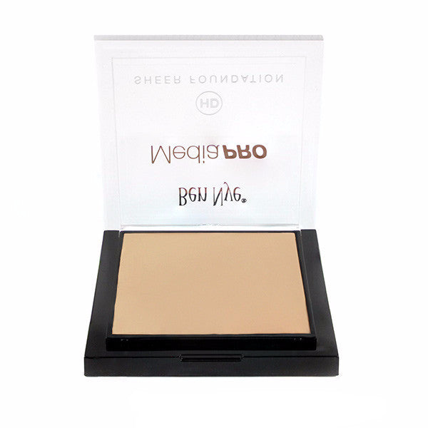 Ben Nye MediaPRO HD Sheer Foundation - Pure Ivory (HD-201) | Camera Ready Cosmetics - 51