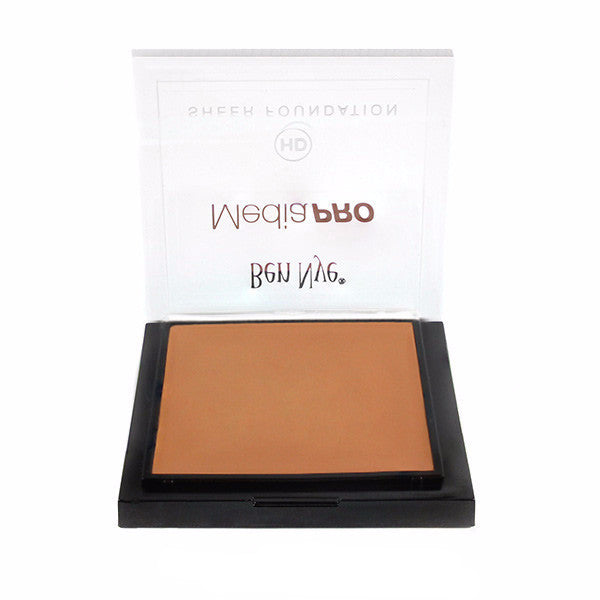 Ben Nye MediaPRO HD Sheer Foundation - Soft Caramel (HD-520) | Camera Ready Cosmetics - 66