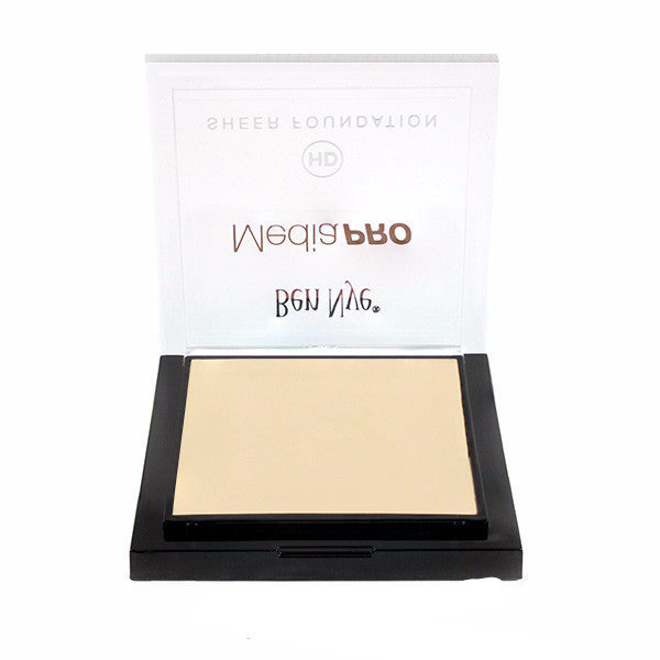 Ben Nye MediaPRO HD Sheer Foundation - Special White (HD-301) | Camera Ready Cosmetics - 67